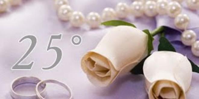 Ben noto 25 anni di matrimonio per Emilia e Americo - Area C HV23