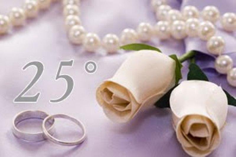 Auguri Di Buon 25 Anniversario Di Matrimonio