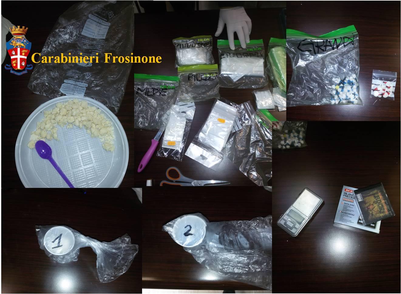 Foto arresto Frosinone