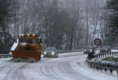 Maltempo in Ciociaria, neve a bassa quota