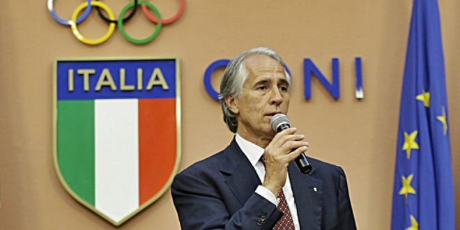 Cassino, Giovanni Malagò scrive a Donatella Formisano