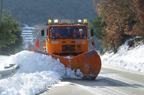 Allerta neve in Ciociaria, scuole chiuse
