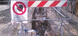 Castelliri, sospensione flusso idrico