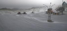 Freddo invernale, neve in Ciociaria