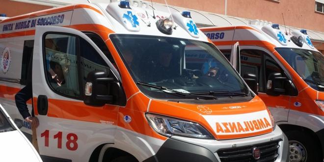 Picchiata da suo marito, trasportata all'ospedale di Alatri