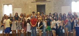 Anagni, studenti americani nella Sala della Ragione