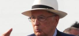 Napolitano in vacanza, grida e insulti sulle Dolomiti