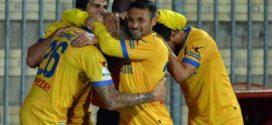Calcio, Frosinone capolista al 95esimo minuto