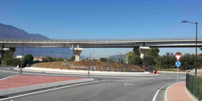 Superstrada Sora-Ferentino, parcheggio da 150 posti