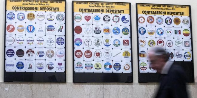 Elezioni 2018, il Viminale ammette 75 simboli su 103