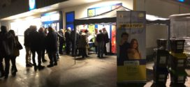 Differenziata a Frosinone, stand negli spazi commerciali