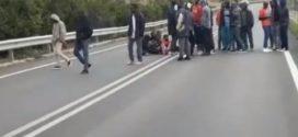 """Caos immigrati a Veroli-""""Vogliamo i soldi dallo Stato"""""""