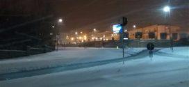 Neve in Ciociaria, fiocchi a bassa quota