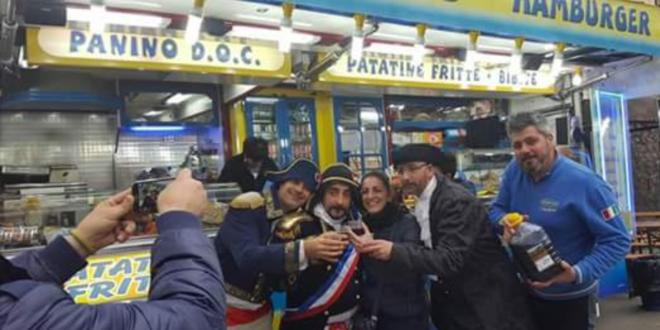Carnevale a Frosinone, Championnet fa tappa da Panino DOC