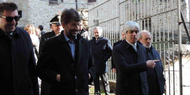 Ferentino, Dario Franceschini al Teatro Romano