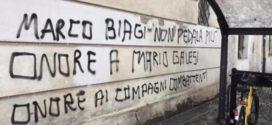"""Marco Biagi non pedala più"", scritte choc sui muri"