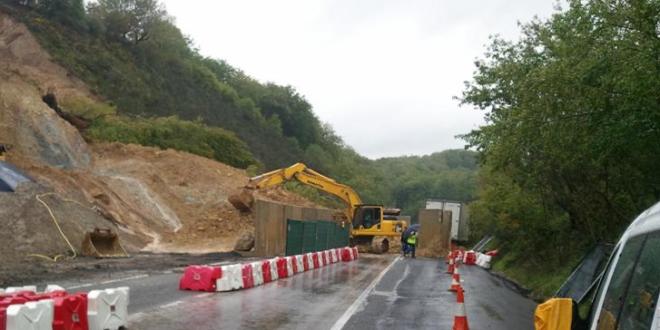 """Strada chiusa a Veroli-""""A rischio l'incolumità dei cittadini"""""""