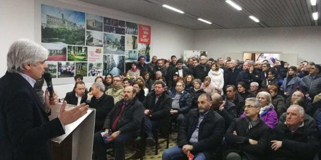 Ferentino, Pompeo inaugura il suo comitato elettorale