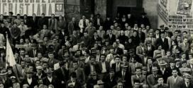 Alcide De Gasperi in Ciociaria, bagno di folla a Frosinone