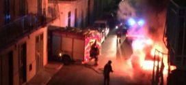Macchina incendiata in Ciociaria, colpito un consigliere nella notte