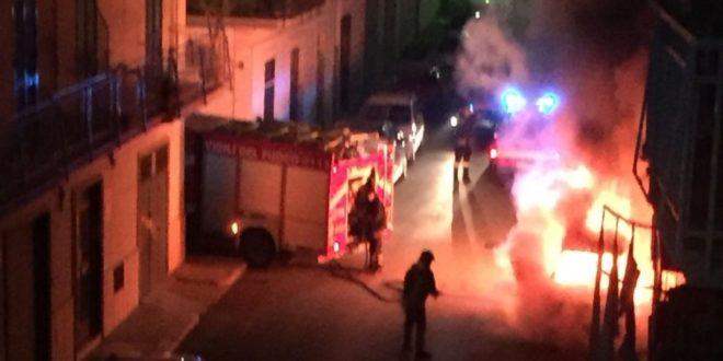 Incendio doloso in Ciociaria, minacciata una barista