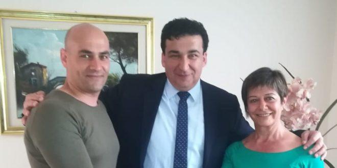 Elezioni Boville, Anna Verrelli con Enzo Perciballi