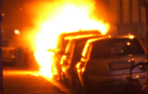 Esplosione all'alba in Ciociaria, fiamme in centro