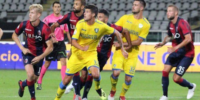 Frosinone-Bologna, gialloblu pareggiano a Torino
