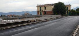 Frosinone, nuovo asfalto in viale Mazzini