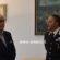 Frosinone, il colonnello Cagnazzo accoglie il prefetto Portelli