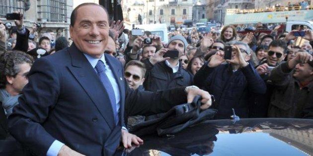 Forza Italia, Silvio Berlusconi in Ciociaria