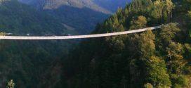 Record, in Italia il ponte tibetano più alto d'Europa