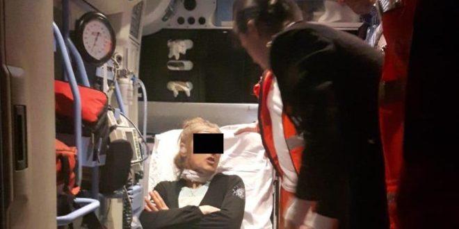 Minaccia di tagliarsi la gola, sfiorata tragedia in Ciociaria