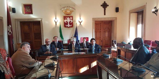Ferentino, la città accoglie delegazione ambasciatori presso Santa Sede