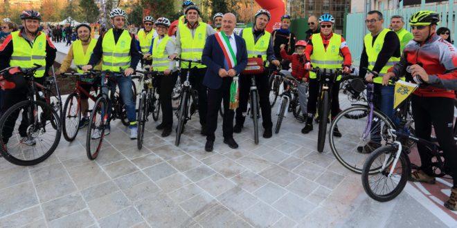 Frosinone, inaugurato il nuovo parco comunale