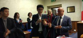 Frosinone, il sindaco accoglie una delegazione sudcoreana