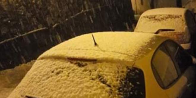 Neve in Ciociaria, già diversi comuni colpiti