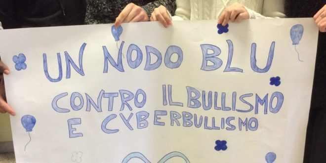 No al bullismo, presa di posizione degli alunni di Veroli