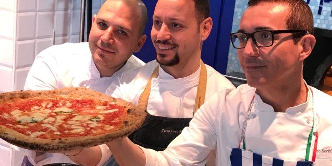 Roma, Gino Sorbillo apre pizzeria nella capitale